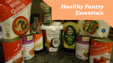 Pantry essentials for a healthy food kitchen – Part 1