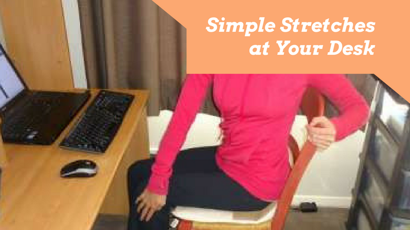 Simple Stretches at your Desk