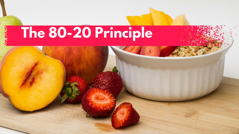 Apply the 80-20 Principle and Win at Weight Loss