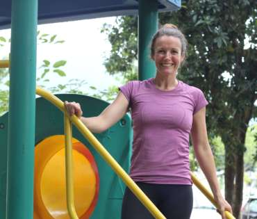 online health and fitness coach Elly McGuinness
