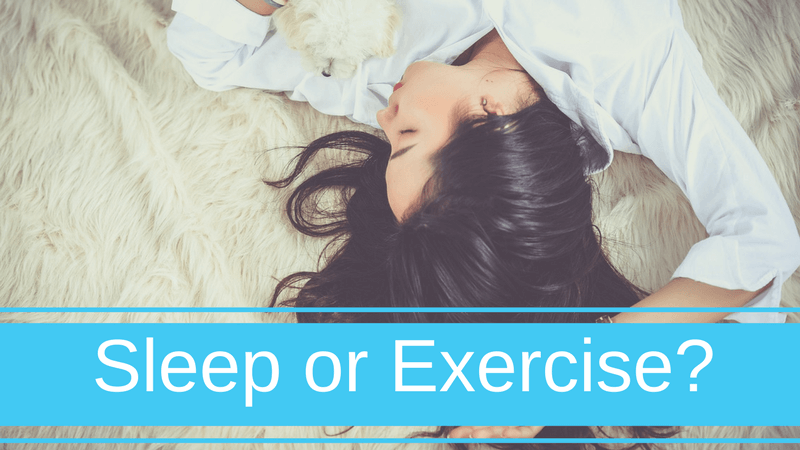 Sleep or Exercise? 3 Reasons Why You Shouldn't Work Out When You're Lacking ZZZ's