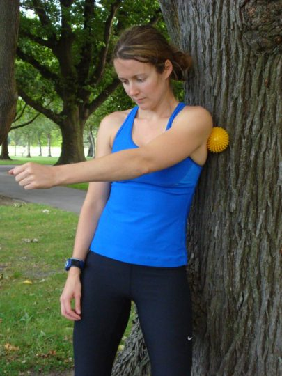 how to use a trigger point ball