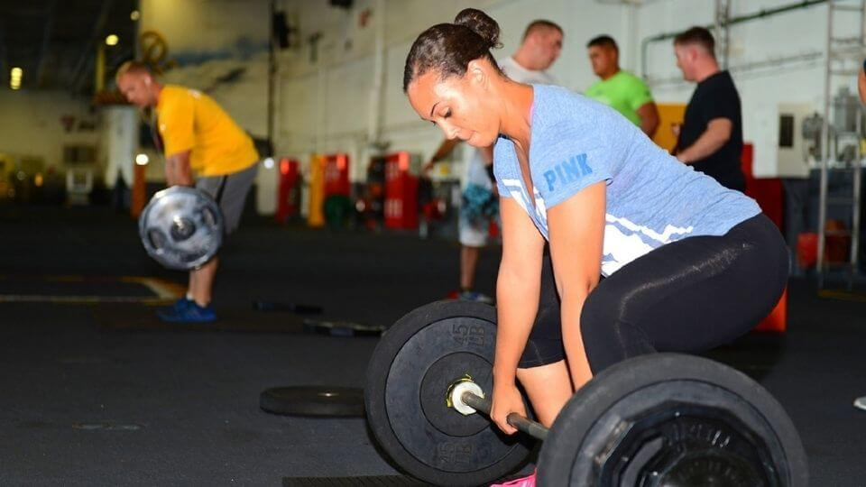Exercise as Stress Relief-woman lifting weights