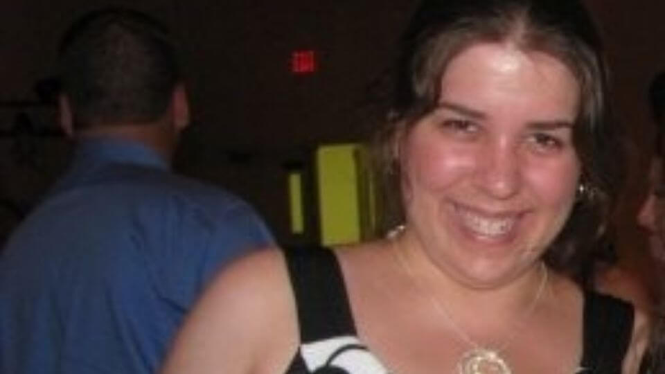 Weight loss story-How I lost 43 pounds without fad dieting-Katie Kulich before photo
