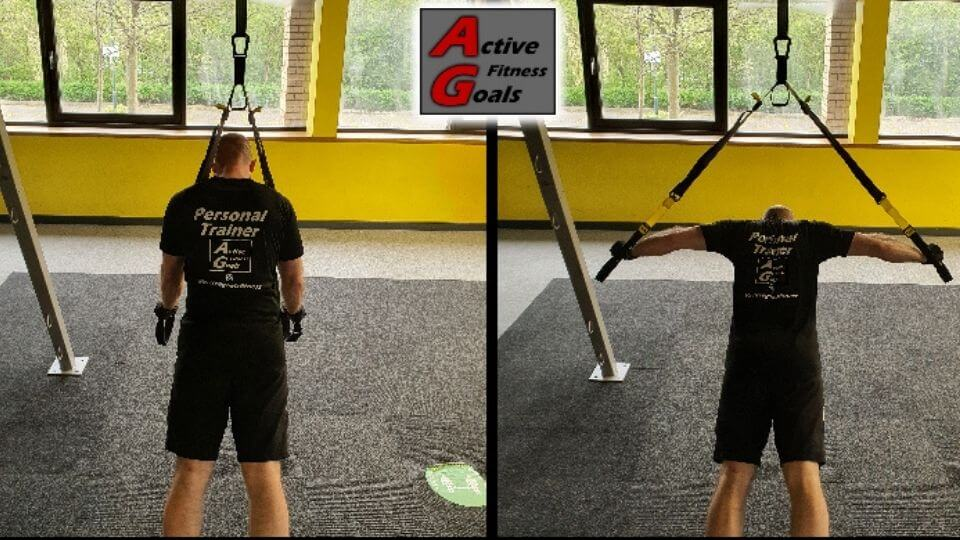 TRX Chest Exercises-isolated- Fly