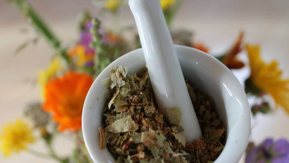Why go to a naturopath-mortar and pestle poultice